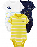 3-Pack Whale Original Bodysuits