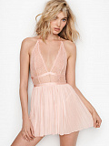 Pleated Babydoll - pink