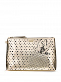 Gold Pineapple Beauty Pouch