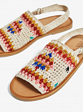CROCHET COTTON SANDALS