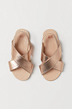 Sandals - ROSE GOLD-COLORED
